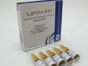 Эпинефрин показания к применению - инструкция