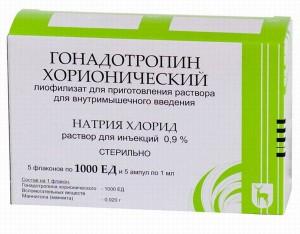 Гонадотропин показания к применению - инструкция