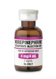 Норэпинефрин инструкция по применению
